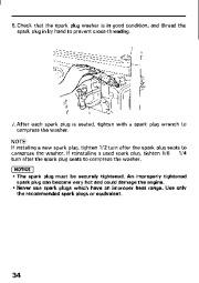 Honda Generator EM3800SX EM5000SX EM6500SX Owners Manual page 36