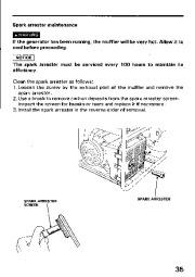 Honda Generator EM3800SX EM5000SX EM6500SX Owners Manual page 37