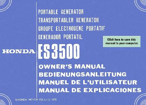Generator honda e2500. Mp4 youtube.