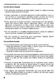 Honda Generator EB11000 Owners Manual page 10