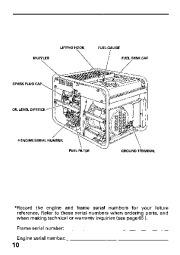 Honda Generator EB11000 Owners Manual page 12