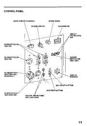 Honda Generator EB11000 Owners Manual page 13