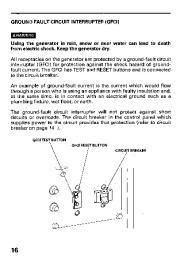 Honda Generator EB11000 Owners Manual page 18