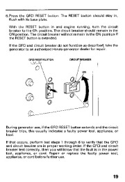 Honda Generator EB11000 Owners Manual page 21