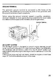 Honda Generator EB11000 Owners Manual page 23