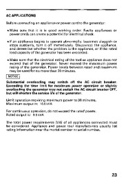 Honda Generator EB11000 Owners Manual page 25