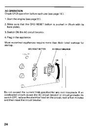 Honda Generator EB11000 Owners Manual page 26