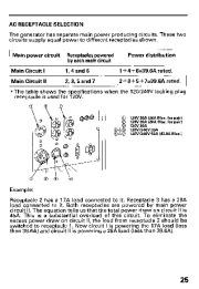 Honda Generator EB11000 Owners Manual page 27