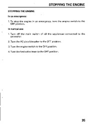 Honda Generator EB11000 Owners Manual page 37