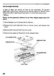 Honda Generator EB11000 Owners Manual page 46