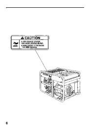 Honda Generator EB11000 Owners Manual page 8