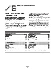 Generac 3500XL Generator Owners Manual page 10