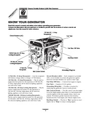 Generac 3500XL Generator Owners Manual page 4