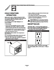 Generac 3500XL Generator Owners Manual page 8