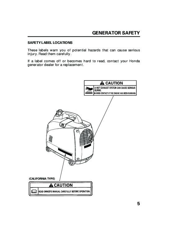 Honda generator eu1000i portable owners manual.