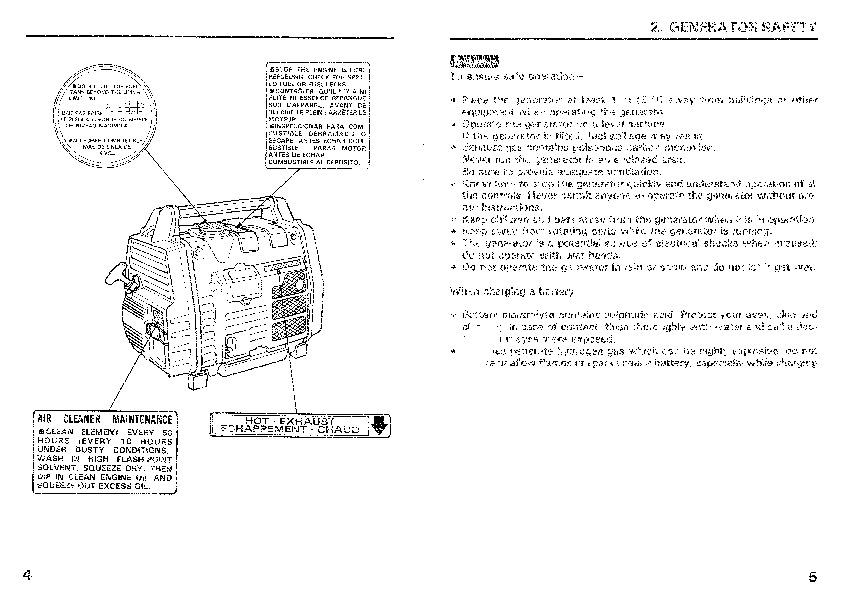 honda generator em650 owners manual rh home appliance filemanual com honda es6500 generator service manual honda eu2000i generator service manual