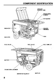 Honda Generator ES6500 Owners Manual page 10