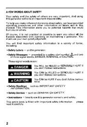 Honda Generator ES6500 Owners Manual page 4