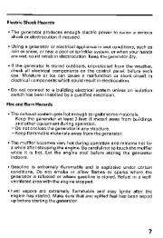 Honda Generator ES6500 Owners Manual page 9