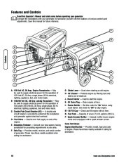 Husqvarna 1055GN Generator Owners Manual, 2007,2008,2009,2010,2011,2012 page 10