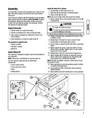 Husqvarna 1055GN Generator Owners Manual, 2007,2008,2009,2010,2011,2012 page 7