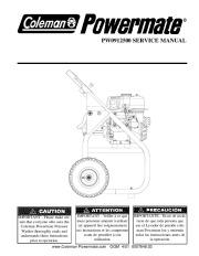 Coleman Powermate PW0912500 Generator Service Manual page 1