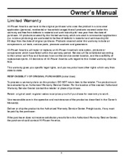 All Power America 2000 APG3010 Generator Owners Manual page 3