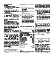 Briggs And Stratton 120000 600 625 650 675 Series Generator Owners Manual page 6