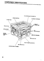 Honda Generator EB5000S Owners Manual page 10