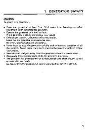 Honda Generator EM1600 Owners Manual page 4