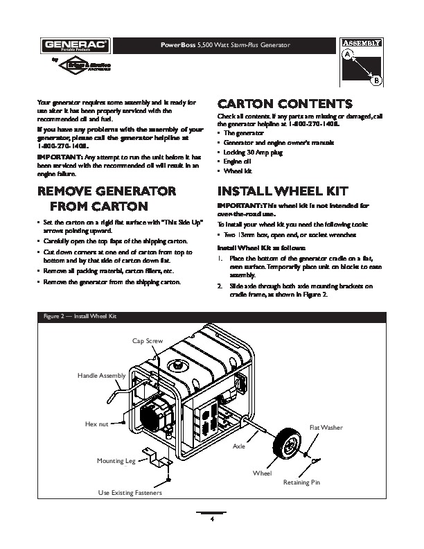 generac 5500 generator owners manual rh home appliance filemanual com generac 6500 watt generator owner's manual generac 6500 watt generator owner's manual