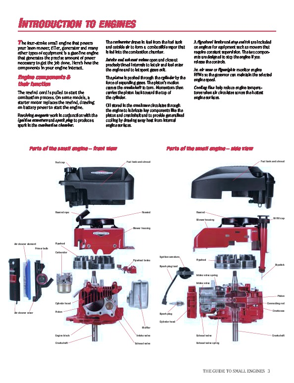briggs and stratton small engine care and repair generator briggs and stratton 17.5 hp engine service manual briggs and stratton 5hp engine service manual