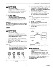Honeywell Solid State Spark Generator Q624A Owners Manual page 3