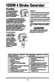All Power America 1500 APG3006 Generator Owners Manual page 5