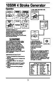 All Power America 1500 APG3006 Generator Owners Manual page 6
