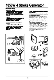 All Power America 1500 APG3006 Generator Owners Manual page 7