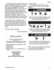 Coleman Powermate PW0872400 Generator Service Manual page 11