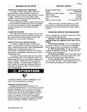 Coleman Powermate PW0872400 Generator Service Manual page 13