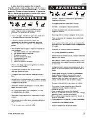 Coleman Powermate PW0872400 Generator Service Manual page 21