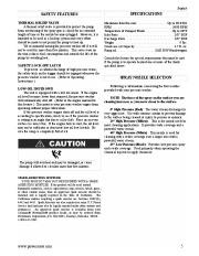 Coleman Powermate PW0872400 Generator Service Manual page 5