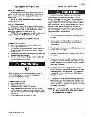 Coleman Powermate PW0872400 Generator Service Manual page 7