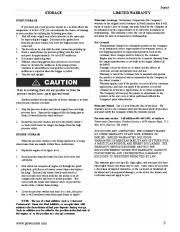 Coleman Powermate PW0872400 Generator Service Manual page 9
