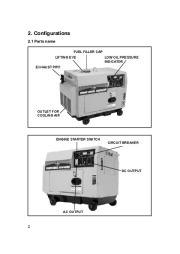 All Power America 6500 APG3202 Silent Diesel Generator Owners Manual page 7