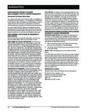 Honeywell HW4000L HW5500L HW 5600C HW6200 HW6850 HW7500EL Generator Service Manual page 10