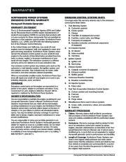 Honeywell HW4000L HW5500L HW 5600C HW6200 HW6850 HW7500EL Generator Service Manual page 8