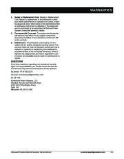 Honeywell HW4000L HW5500L HW 5600C HW6200 HW6850 HW7500EL Generator Service Manual page 9