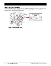 Honeywell HW5500 HW5500E Generator Owners Manual page 12