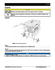 Honeywell HW5500 HW5500E Generator Owners Manual page 13
