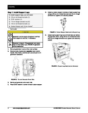 Honeywell HW5500 HW5500E Generator Owners Manual page 14
