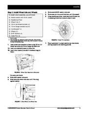 Honeywell HW5500 HW5500E Generator Owners Manual page 15